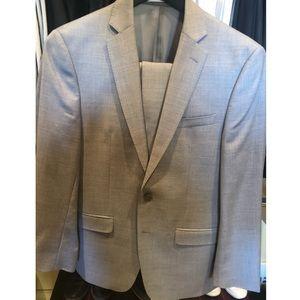 Calvin Klein Suit - Light Gray - 38R